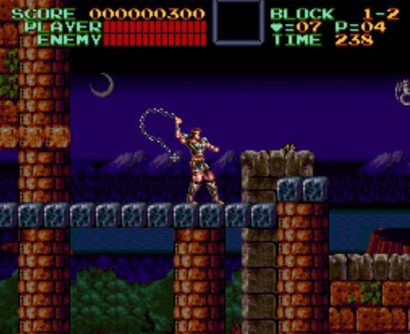 Castelvania IV Super Nintendo