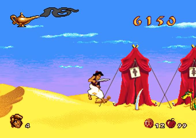 Aladdin Mega Drive