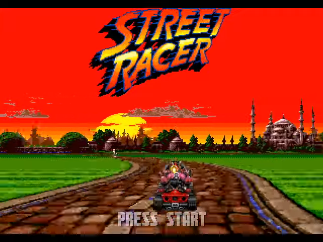 Street Racer Mega Drive