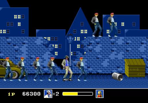 Michael Jackson's Moonwalker Mega Drive