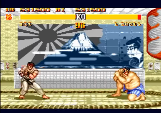 Street Fighter II: Special Champion Edition Mega Drive