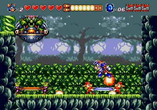 Sparkster Mega Drive
