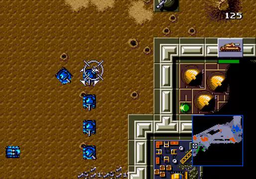 Dune: The Battle for Arrakis  Mega Drive