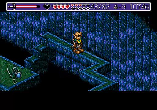 Landstalker Mega Drive