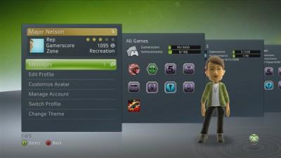 Dashboard Xbox 360