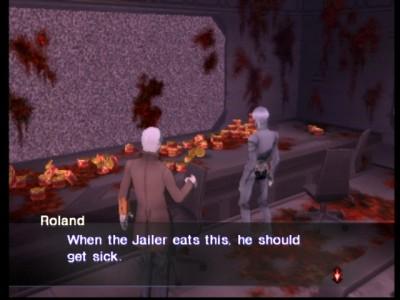 Roland: cuando el Carcelero coma esto, debería ponerse enfermo