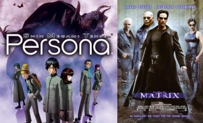 Revelations: Persona (1996) y The Matrix (1999). La imagen del juego corresponde a la adaptación para la consola Sony PSP