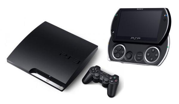 PS3 Slim y PSP Go