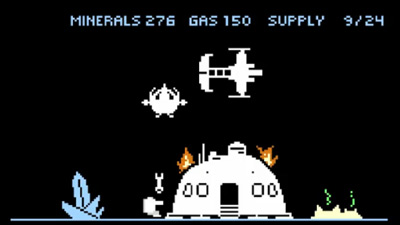 Starcraft 8 Bits
