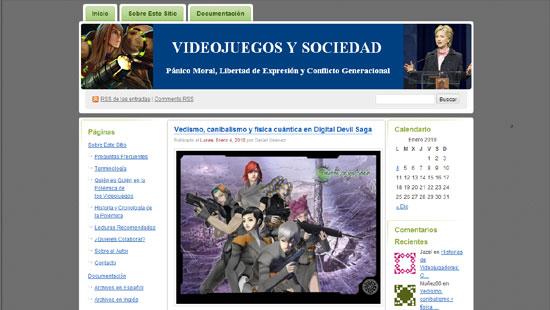 Videojuegos y Sociedad